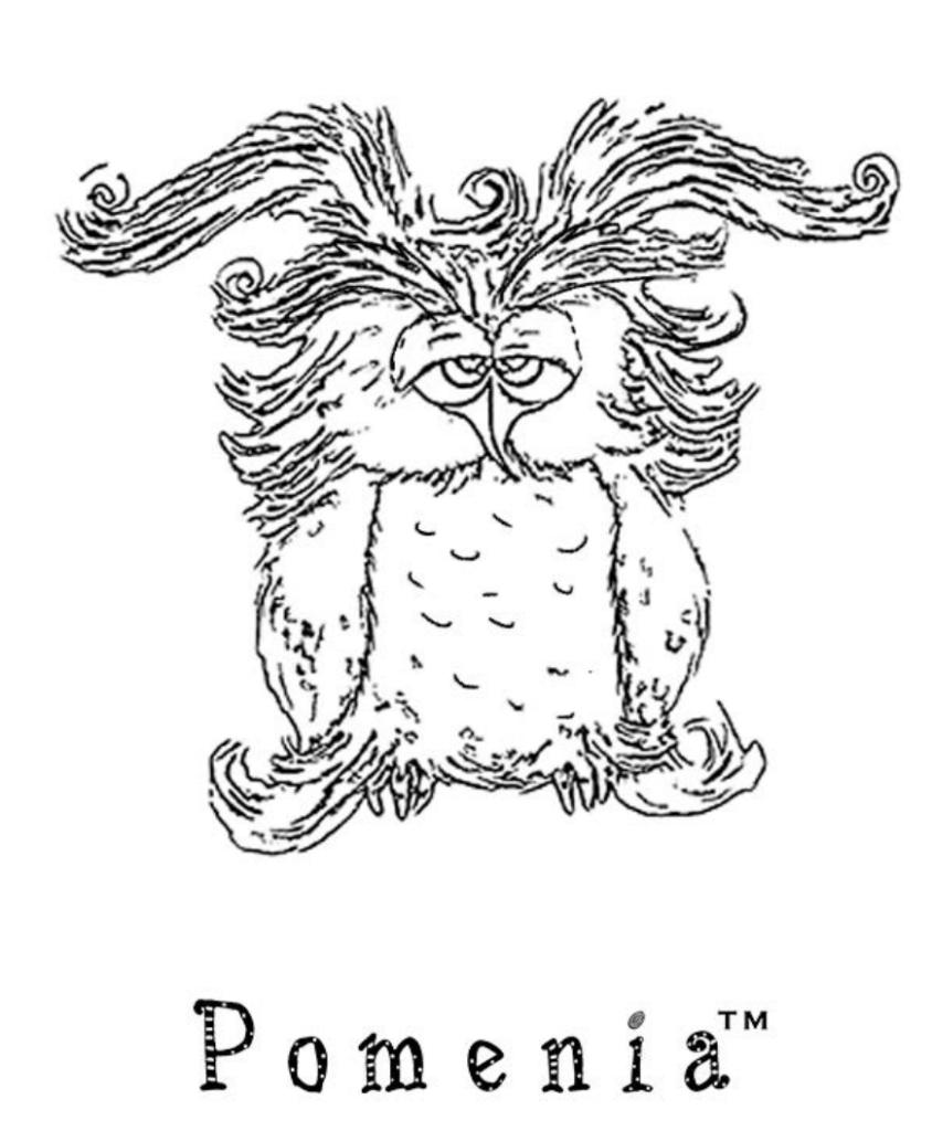 Pomenia värityskuva Herra Pöllö